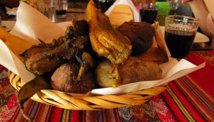 Pachamanca Peruana Andina