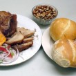 pan con chicharron peruano